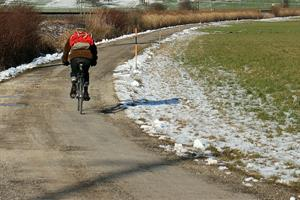 Safe winter cycling